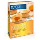 Mevalia magdalenas merendine aproteiche con confettura di albicocca 6 pezzi